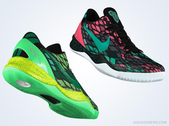 Nike Kobe 8 iD Preview