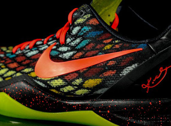 "outlet store 87077 c42fb nike. kobe 8 system ss Nike Kobe 8 ""Christmas"" ..."