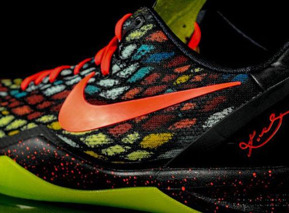 "outlet store 38f21 2984c nike. kobe 8 system ss Nike Kobe 8 ""Christmas"" ..."