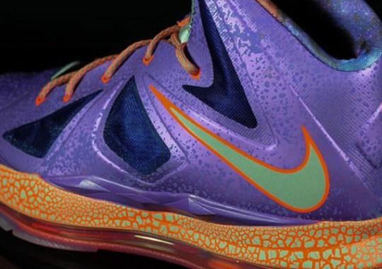"""Galaxy"" Nike LeBron X GS"