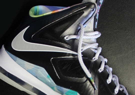 "c6cf581adbb2 Nike LeBron X ""Prism"" – Arriving   Retailers"
