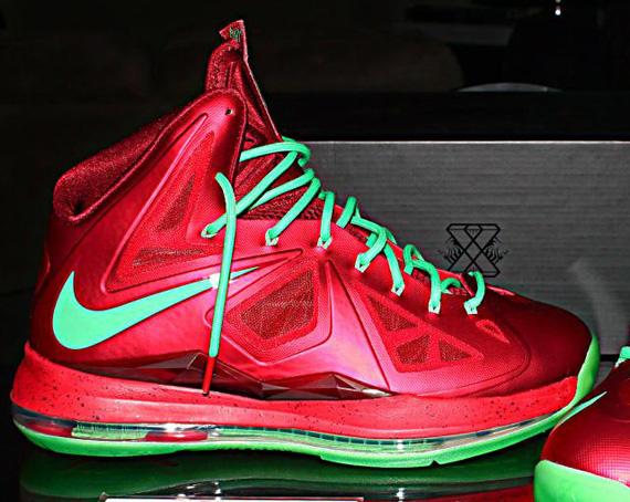 d99586f6463b Nike LeBron X University Red Tourmaline Team Red best ...