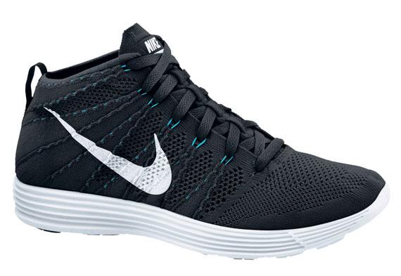 Nike Flyknit Turchese Chukka Nero CBIdYCRiS