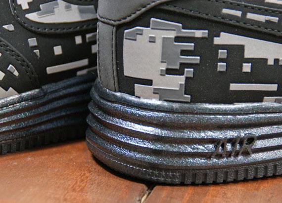Nike Lunar Force 1 quot Black Digi Camoquot