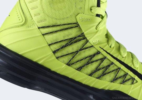 "Nike Lunar Hyperdunk+ ""Atomic Green"""