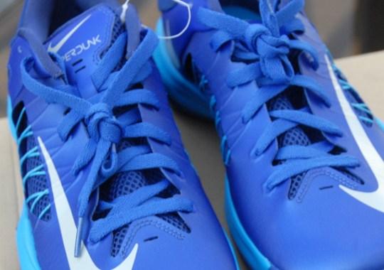 Nike Lunar Hyperdunk Low – Blue – Purple