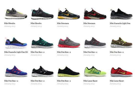 Nike Sportswear January 2013 Releases