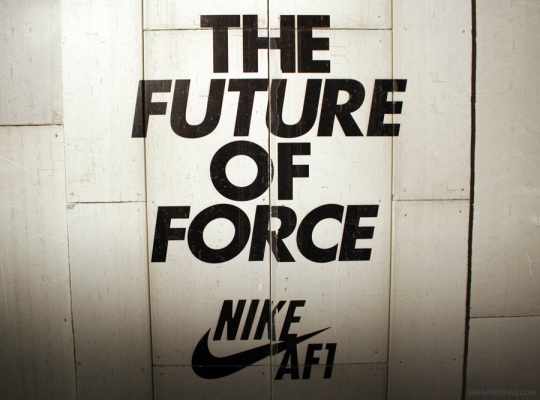 "Nike Air Force 1 ""Future of Force"" Event Recap"