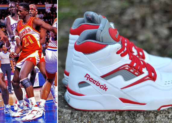 Reebok Pump Twilight Zone - OG Dominique Wilkins Colorways ... d00f0d660
