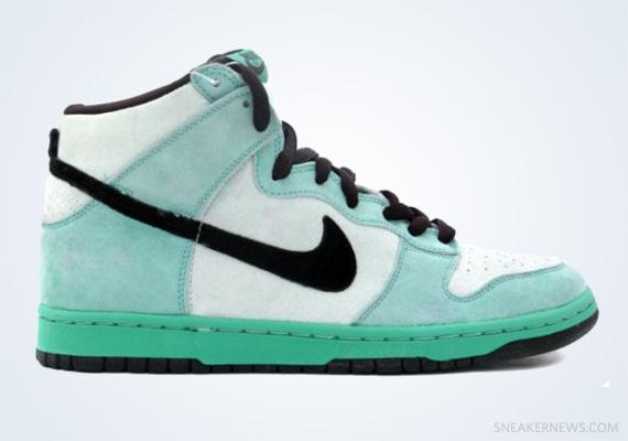 """super popular c8238 d9227 Classics Revisited Nike SB Dunk High """"Sea Crystal"""" (2004)"""