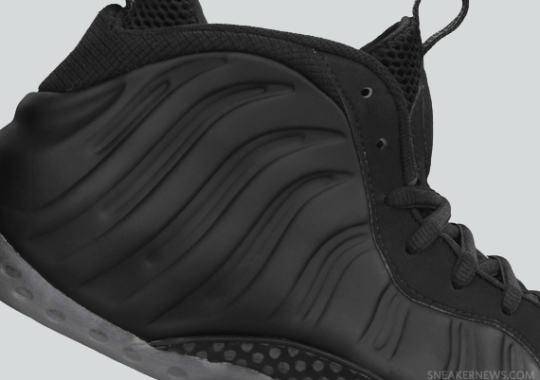 "Nike Air Foamposite One ""Stealth"" – Release Reminder"