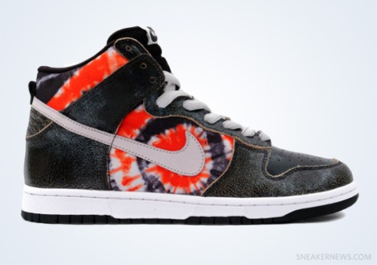 "Classics Revisited: HUF x Nike SB Dunk High ""Tie-Dye"" (2004)"