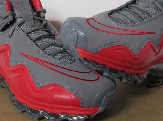 b2852c643839 Nike Air Max Flyposite - Cool Grey - Hyper Red - SneakerNews.com