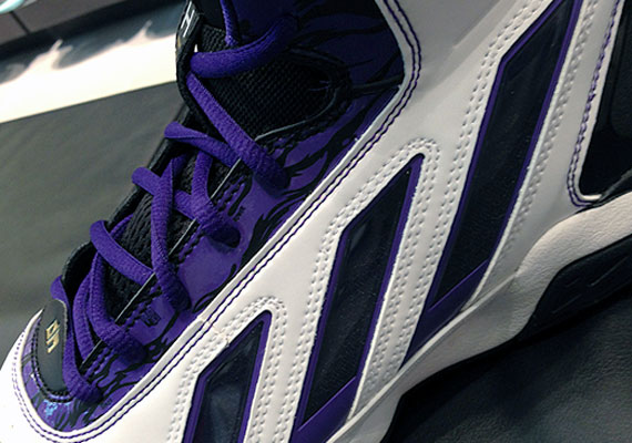 hot sales 63548 6a6d0 ... Dwight Howards first ... Buy Adidas adiPower Howard 3 Black White ...