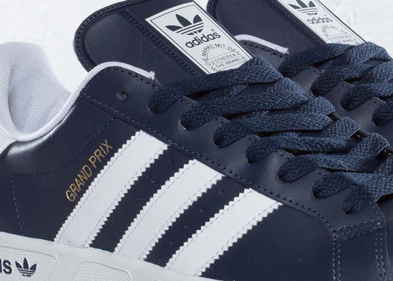 adidas originals grand prix new navy. Black Bedroom Furniture Sets. Home Design Ideas