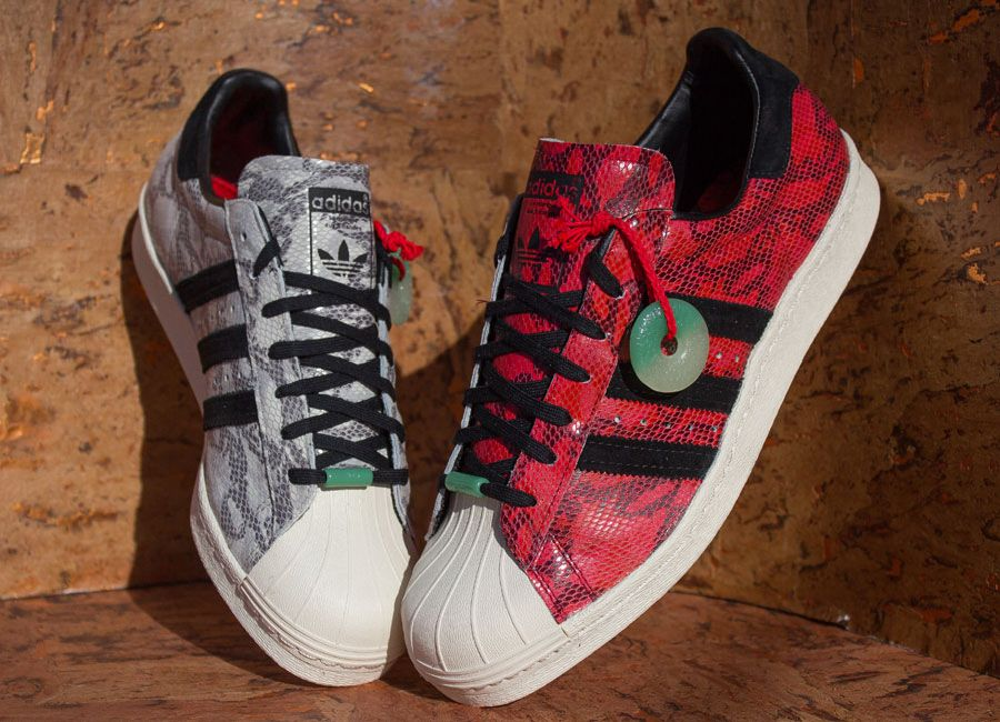 """new style e2dca 46290 adidas Originals Superstar 80s CNY """"Chinese New Year ..."""