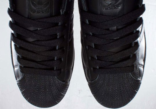 "adidas Originals Superstar II ""Blackout"""