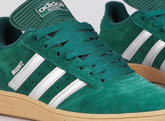 green adidas busenitz