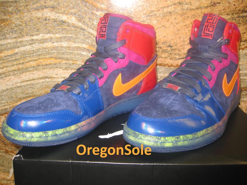 Air Jordan 1 An Haut Du Serpent