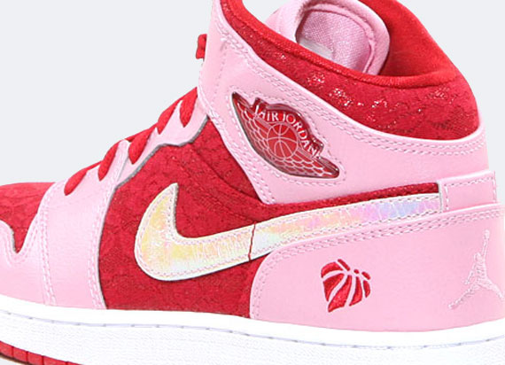 Air Jordan 1 Mid Gs Valentines Day - Cladem