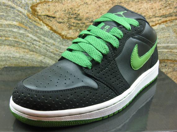 Air Jordan 1 Phat Low Unreleased Black Chlorophyll