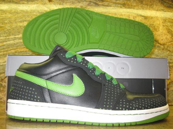 Air Jordan 1 Phat Low Unreleased Black Chlorophyll Sample 80%OFF ... 99c04ebf3