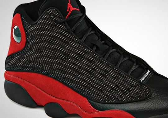 "Air Jordan XIII ""Bred"" – Official Images"