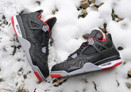 "Air Jordan IV ""Python"" Customs by JBF – Release Info"