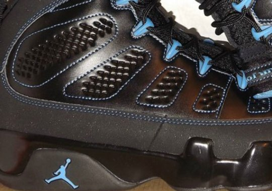 "Air Jordan IX ""Photo Blue"" Black Sole – Available on eBay"