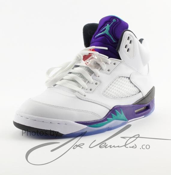 """Air Jordan V """"Grape"""" - Release Date - SneakerNews.com"""
