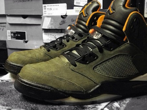 "Air Jordan V ""Undefeated"" Customs by Mache"