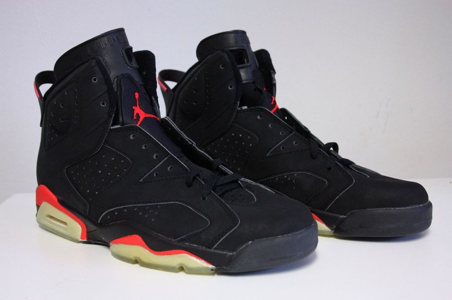 "Air Jordan VI ""Black/Infrared"" OG - SneakerNews.com"