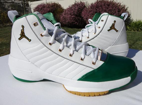 e3831a5702ac Air Jordan XIX - Gary Payton Boston Celtics PE - SneakerNews.com