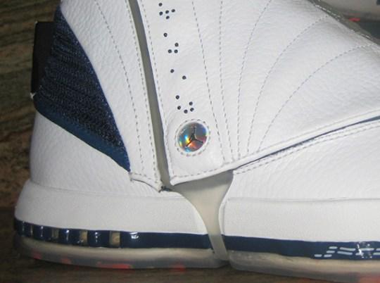 Air Jordan XVI 2012 Retro – White – Midnight Navy | Unreleased Sample