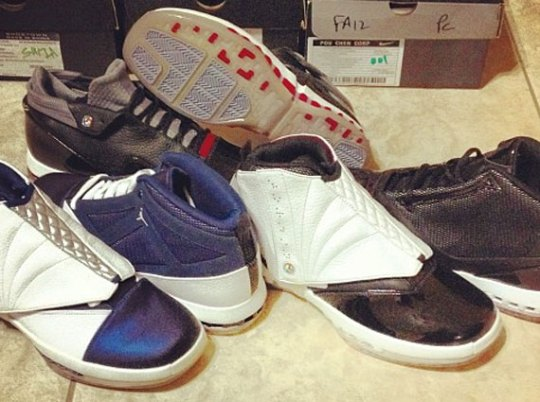 Air Jordan XVI Retro – Scrapped Fall 2012 Samples
