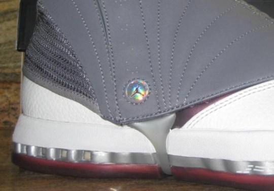 "Air Jordan XVI Retro ""Cherrywood"" – Unreleased 2012 Sample"