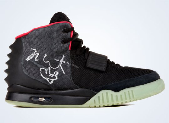 Nike Air Yeezy 2 Charity Auction
