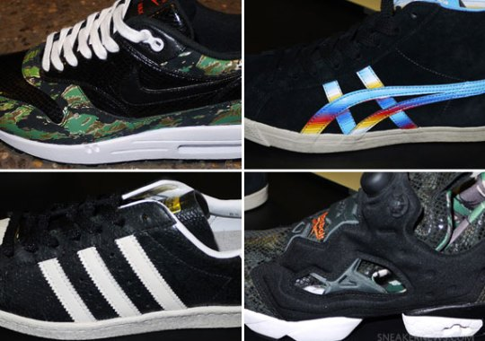 atmos Tokyo Previews 2013 Sneaker Collaborations at Project NYC