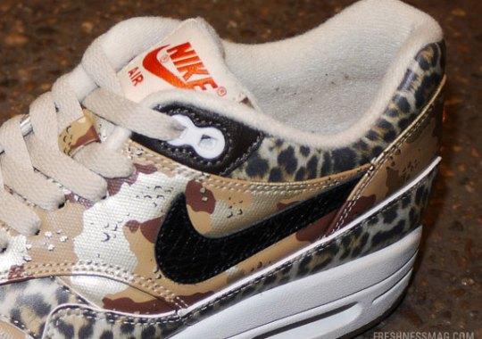 """atmos x Nike Air Max 1 """"Desert Camo"""""""