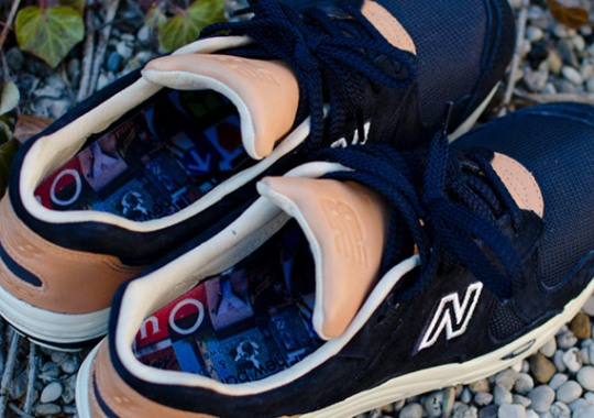 """Beauty & Youth x New Balance 1700 """"Navy"""" – Releasing @ Corporate"""