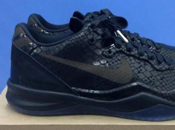 Best Nike Kobe 8 EXT Black-Metallic Silver 582554-001