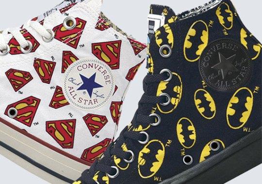 "DC Comics x Converse Japan ""U.S. Originator Pack"""