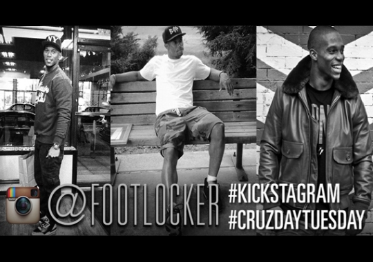 Foot Locker Kickstagram Cruzday Tuesday Contest with Victor Cruz