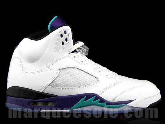 """""""Grape"""" Air Jordan V Retro - SneakerNews.com"""