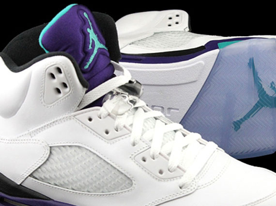 """Grape"" Air Jordan V Retro - SneakerNews.com Retro 6 Grapes"