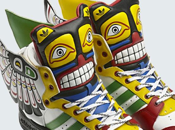 competitive price f2c75 264bd Jeremy Scott x adidas Originals JS Totem Eagle