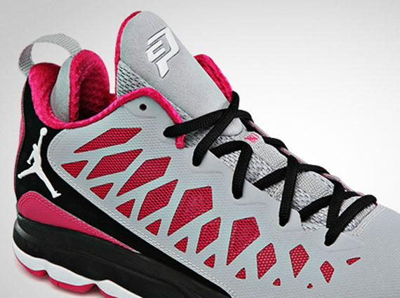 Jordan CP3.VI - Wolf Grey - Vivid Pink