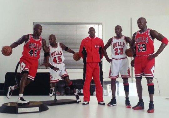 Michael Jordan Masterpiece Figures by Enterbay