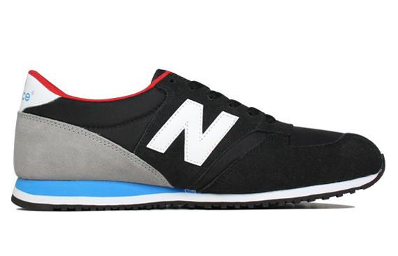 New Balance U420 Black Black Exclusive New Balance 420 Black Grey