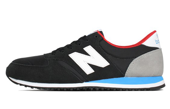 blue and black new balance